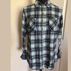 ‼️Dickies Women's Plaid Button Down Shirt‼️